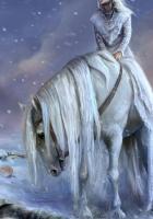 woman, horse, mane