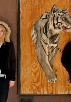 wye oak, girl, tiger