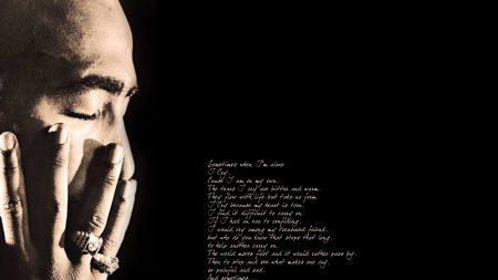 2pac, poems, thouts