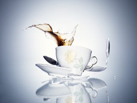 3d, cup, white