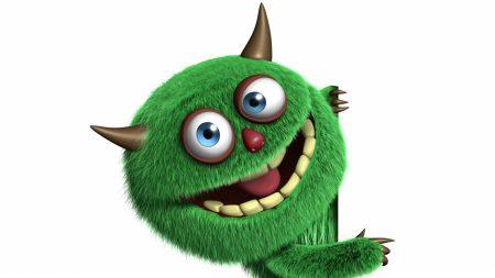 3d, monster, cute