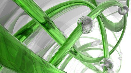 3d, spiral, glass