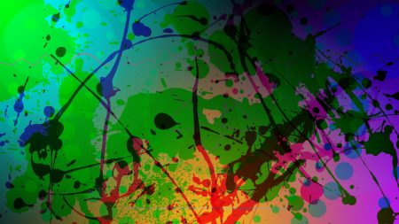 abstract, colorful, blur