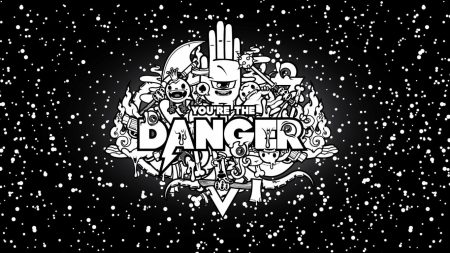 abstraction, danger, black
