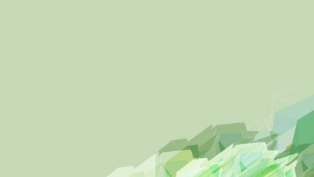 abstraction, green, vector