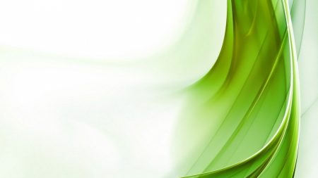 abstraction, green, white