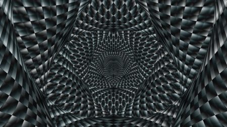 abstraction, optical illusion, black