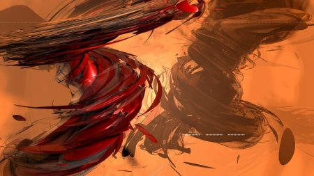 abstraction, red, blizzard