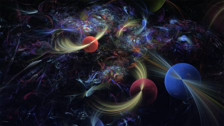 abstraction, space spheres, cruise world