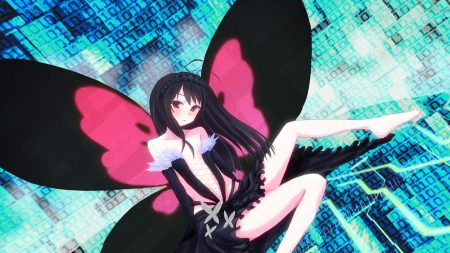 accel world, girl, brunette