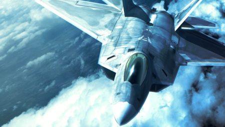 ace combat, fighter, clouds