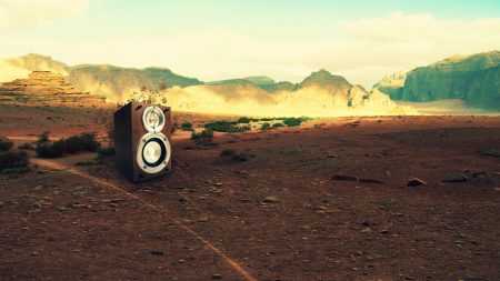 acoustics, desert, mountains