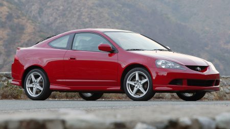 acura, rsx, red
