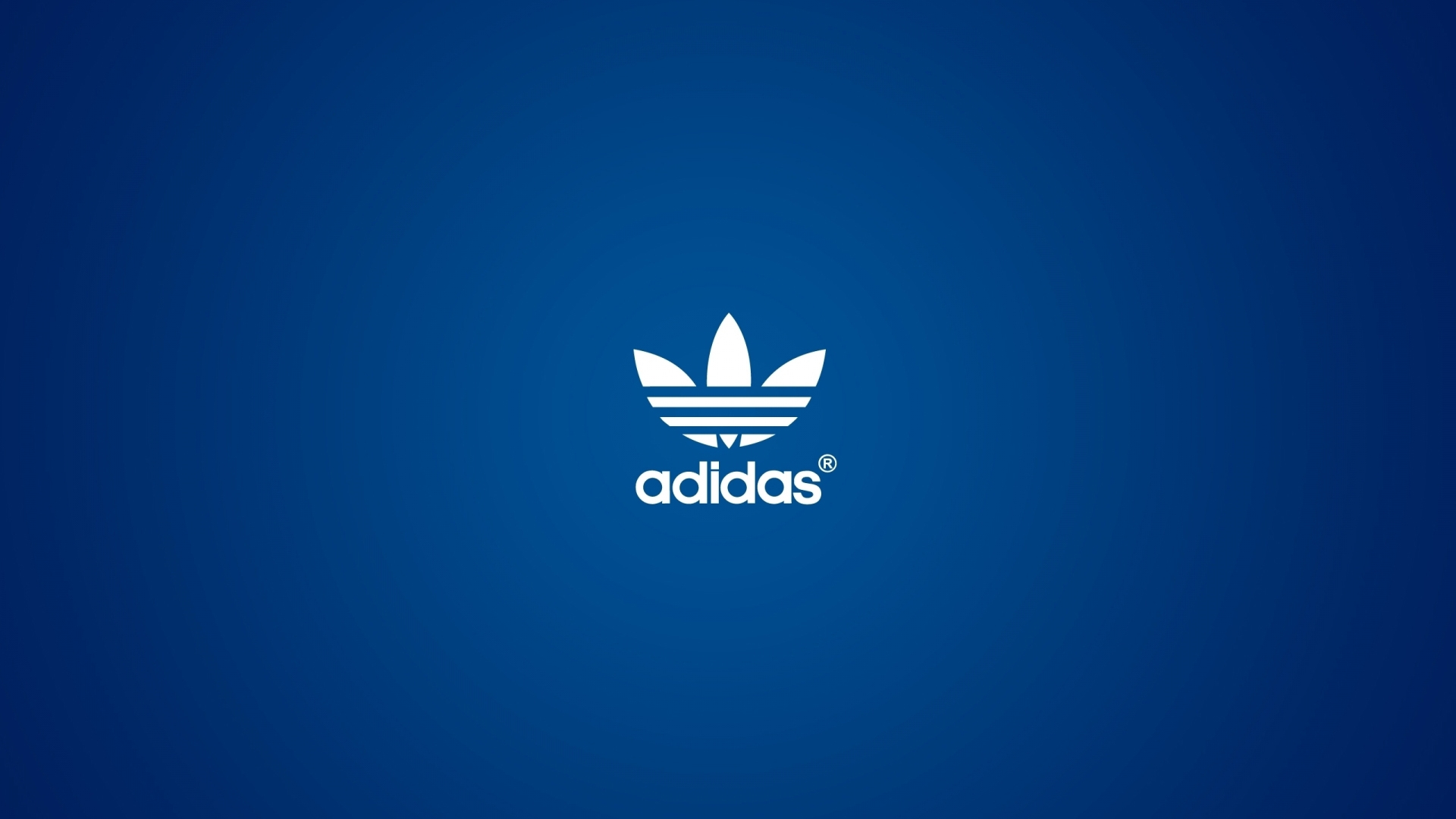 Earnings Disclaimer >> Download Wallpaper 1920x1080 adidas, logo, blue background Full HD 1080p HD Background