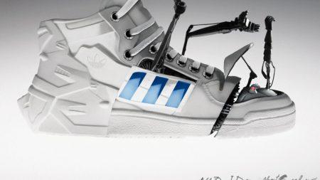 adidas, robot, sneaker