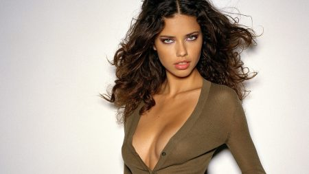 adriana lima, girl, chest