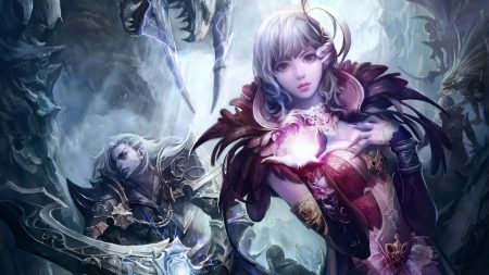 aion the tower of eternity, girl, magic