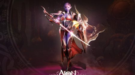 aion the tower of eternity, girl, skull