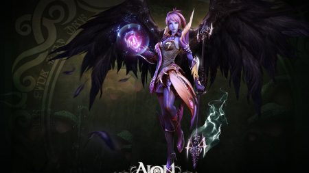 aion the tower of eternity, girl, staff