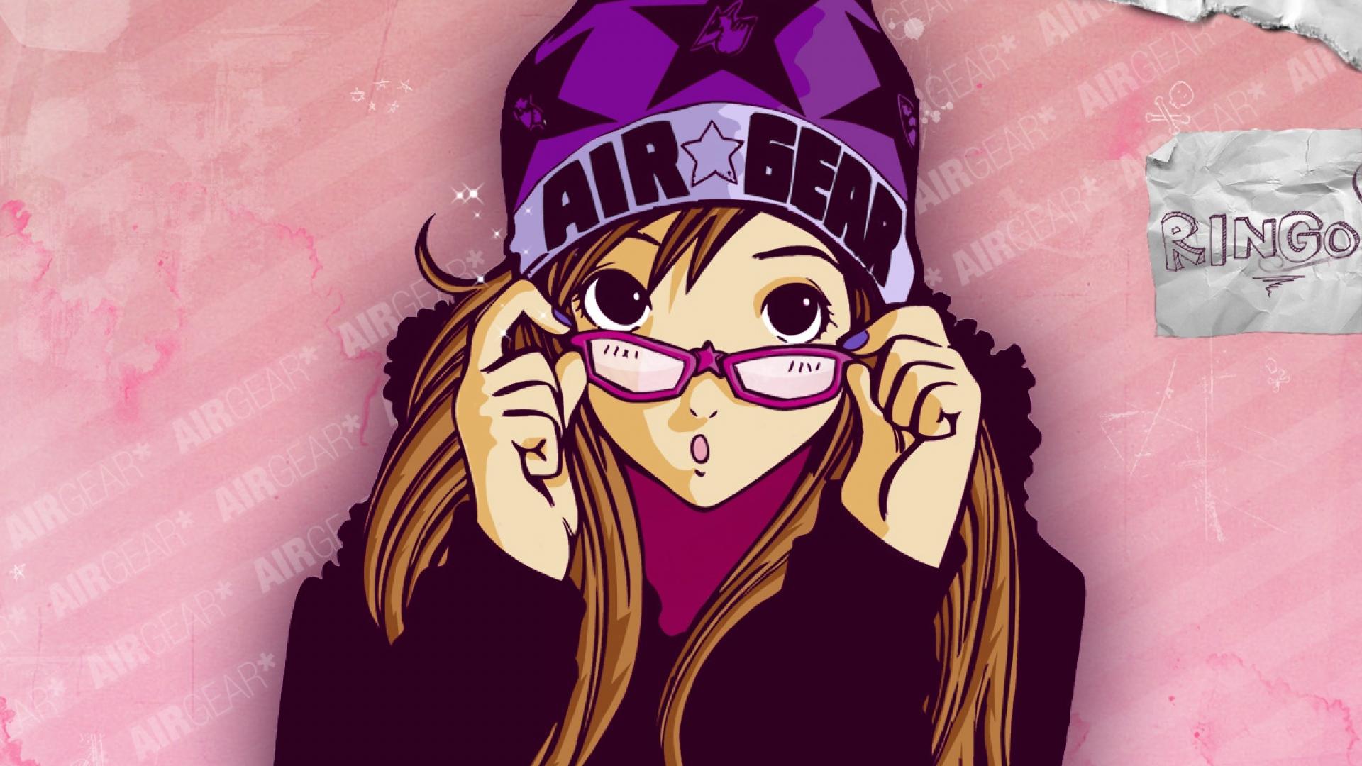 air gear, girl, hat