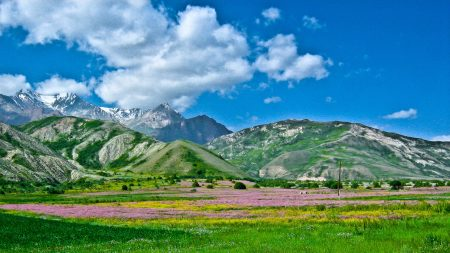 alai, kyrgyzstan, south