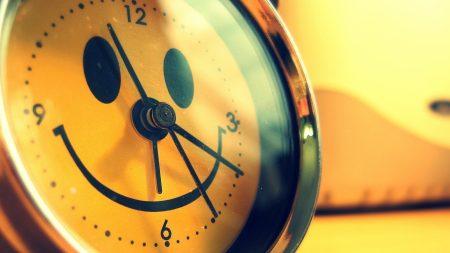 alarm clock, smile, funny