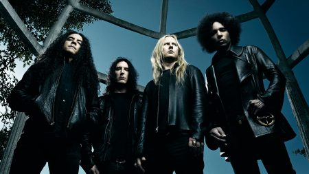 alice in chains, hair, sky