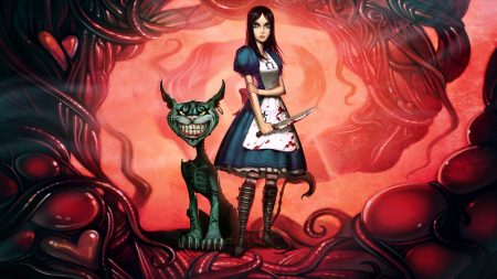 alice madness returns, alice, cheshire cat