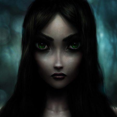 alice madness returns, girl, eyes