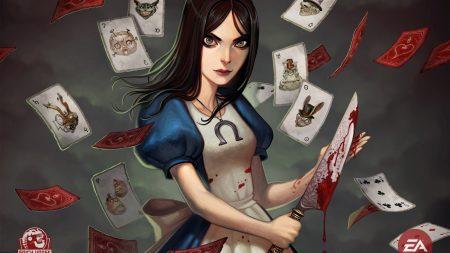 alice madness returns, girl, knife