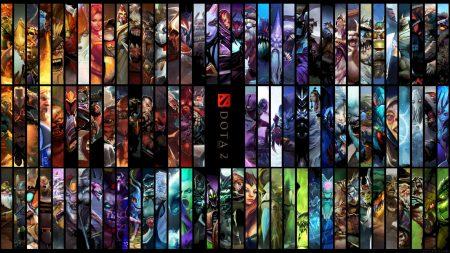 all the heroes, dota 2, dota