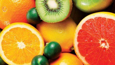 allsorts, fruit, grapefruit