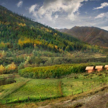 altai, mountains, autumn