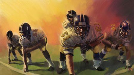 american football, game, sport
