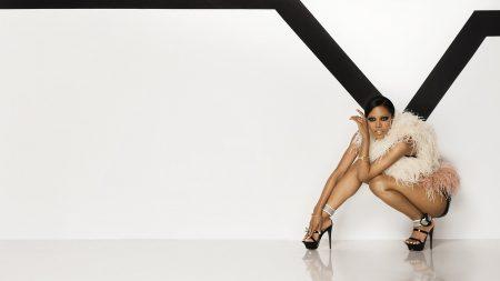 amerie, heels, white