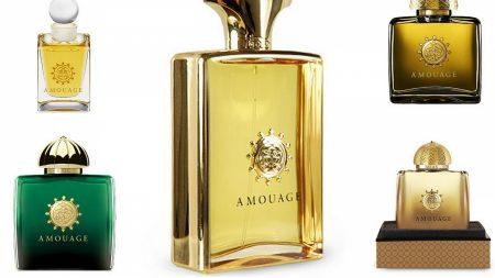 amouage gold, pour homme, perfume