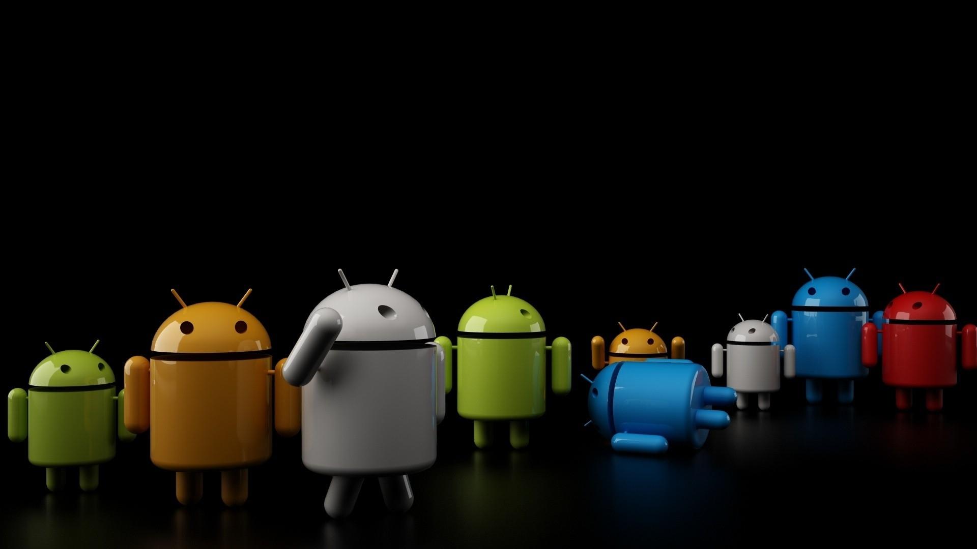 download wallpaper 1920x1080 robot, android, dark full hd 1080p hd