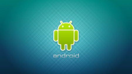 android, robot, logotype