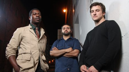 animals as leaders, street, night