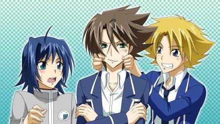 anime, boys, smile