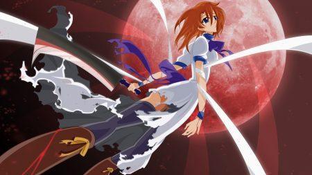 anime, girl, arms
