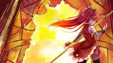 anime, girl, arrow