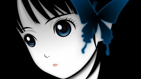 anime, girl, brunette