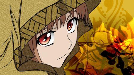 anime, girl, face