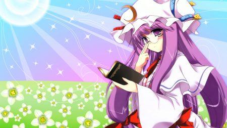 anime, girl, hair
