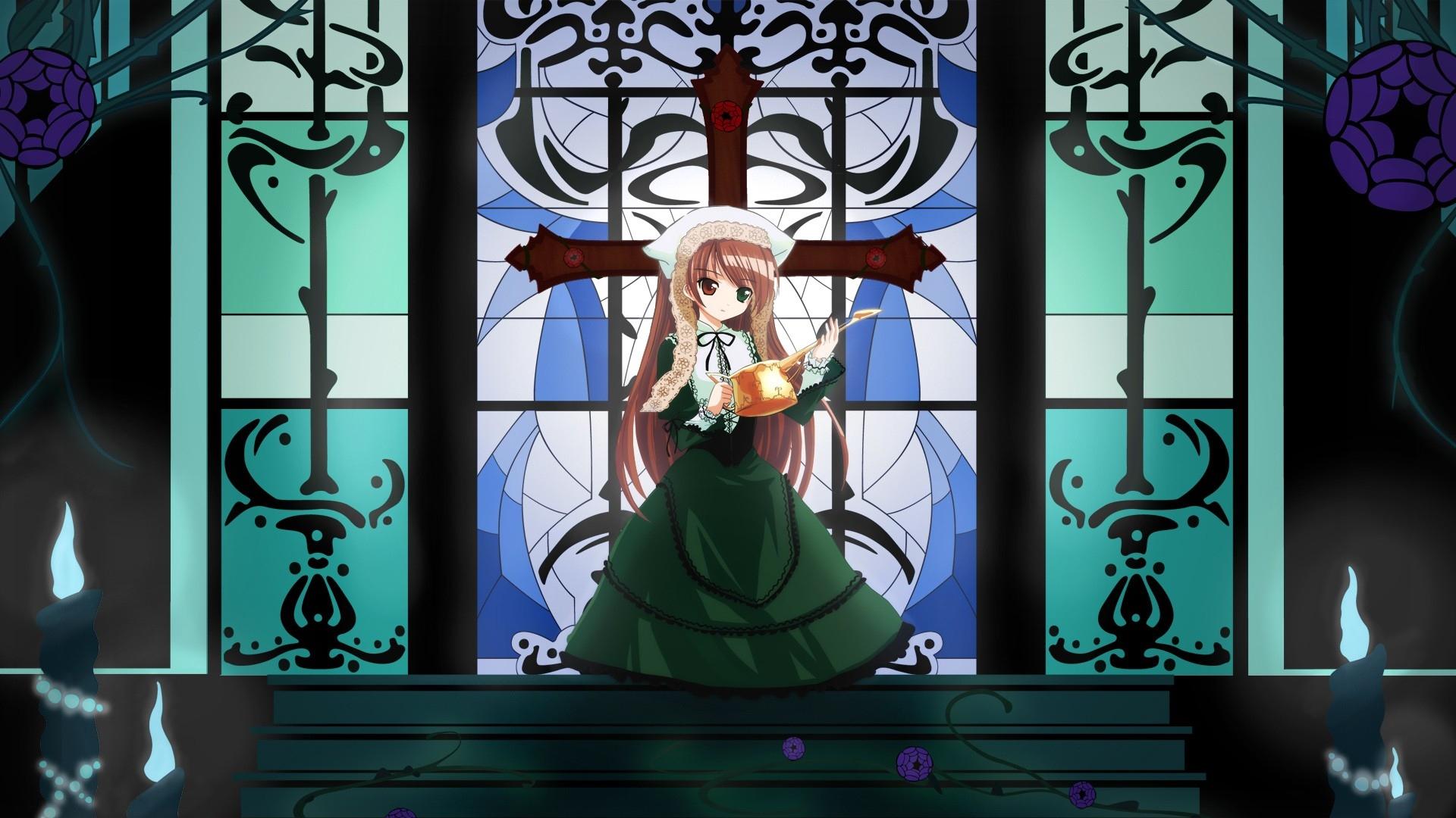 anime girl, ?inderella, cross