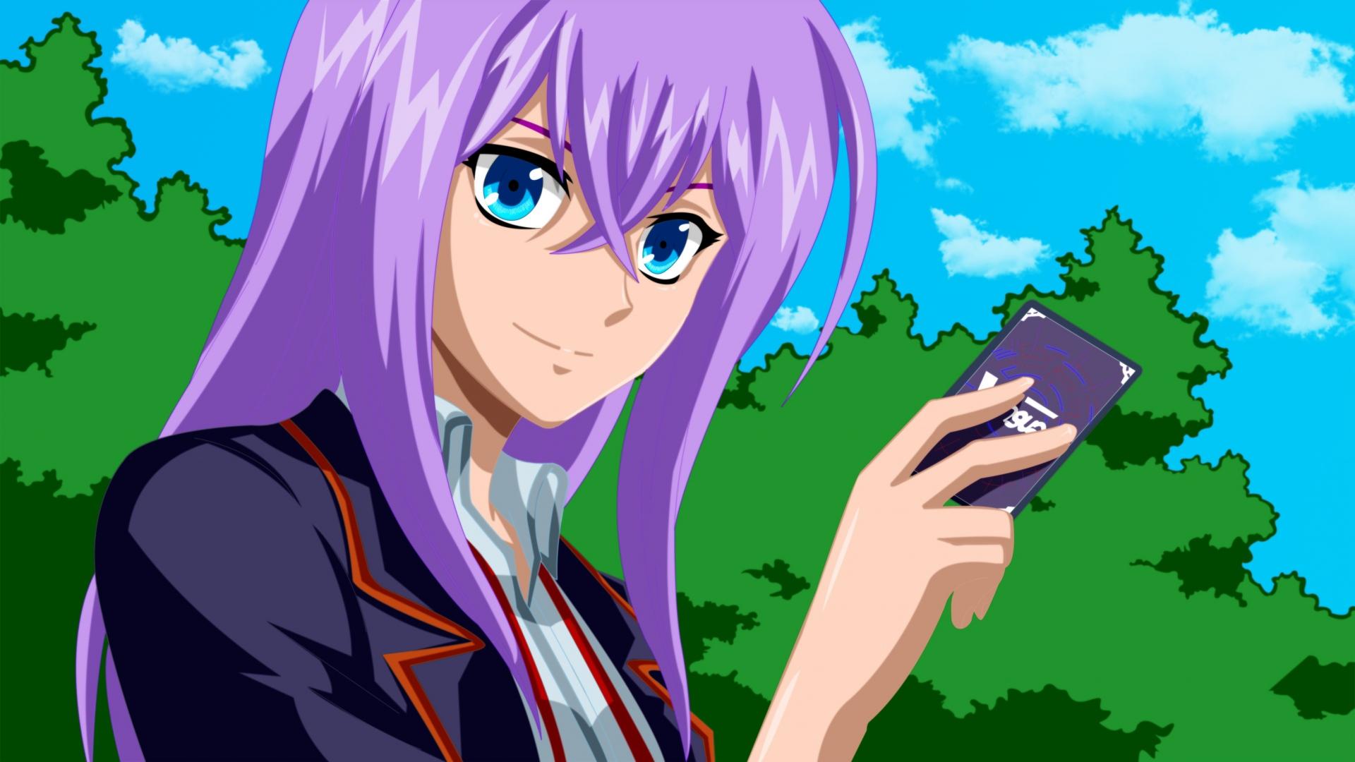 anime, girl, summer