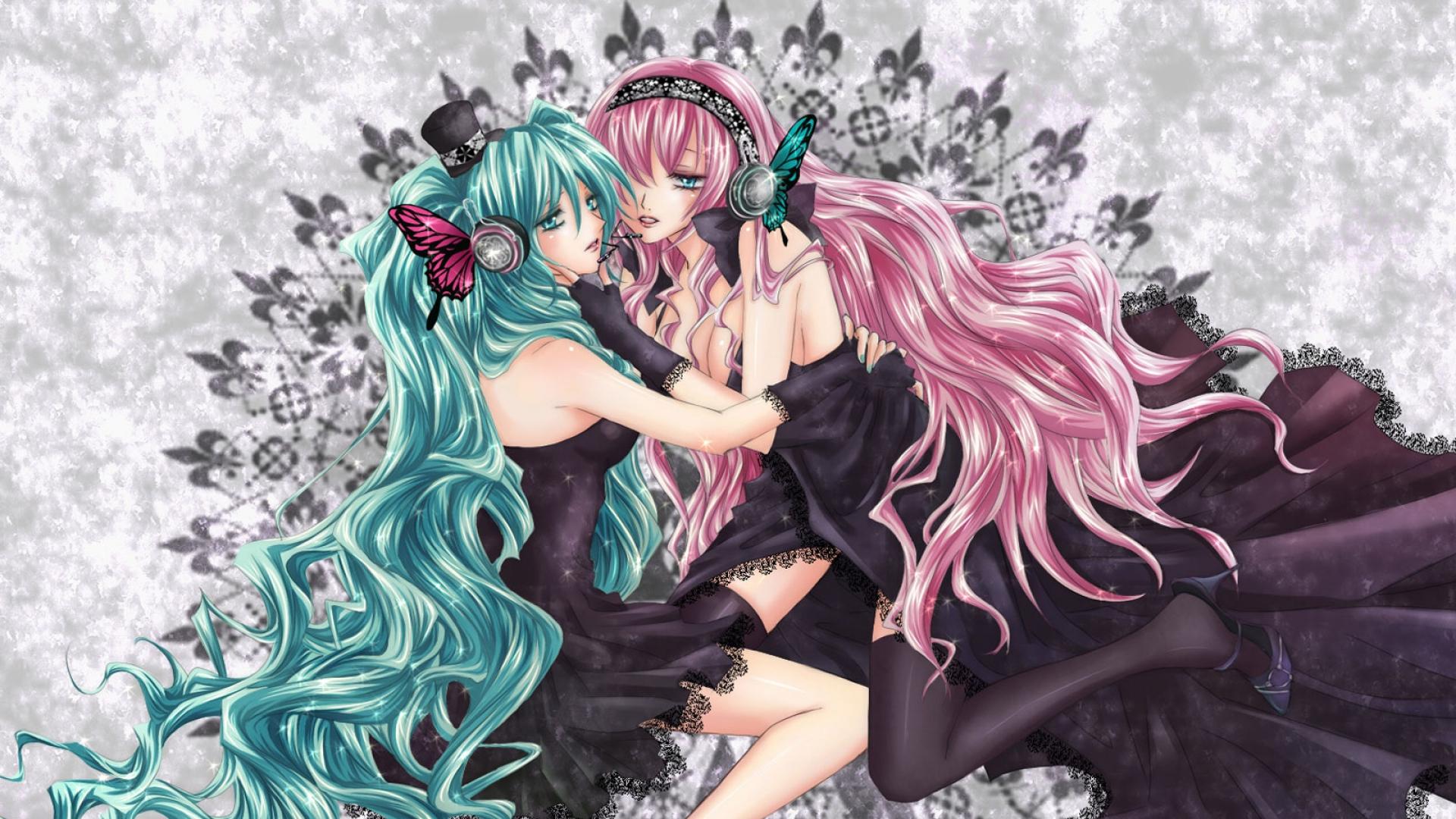 anime, girl, tenderness