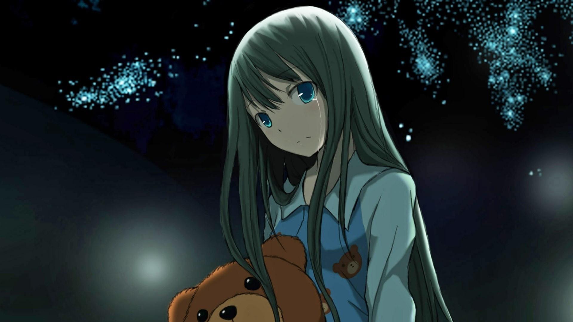 anime, girl, toy