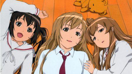 anime, girls, rest